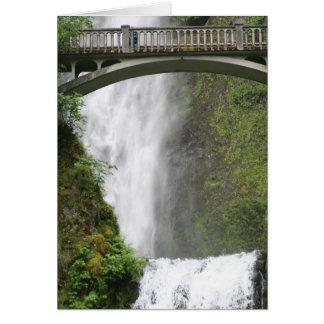 Mulnomah Falls Card