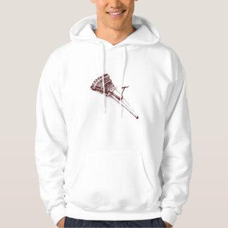 multi-barrel gun hoodie