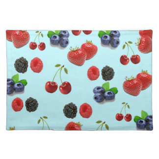 Multi Berry Texture Placemat