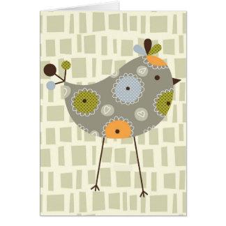 Multi  bird note card