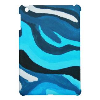 Multi-Blue Painting iPad Mini Cases