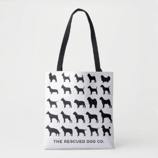 Multi-Breed Dog Tote Bag