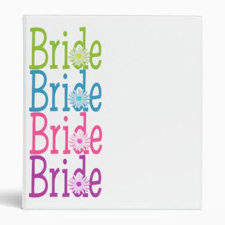 Multi Bride/ Daisy Vinyl Binder