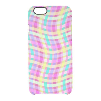 Multi Check 2011 Clear iPhone 6/6S Case