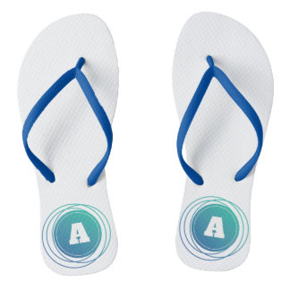 Multi Circle with Customizable Initial Letter Flip Flops