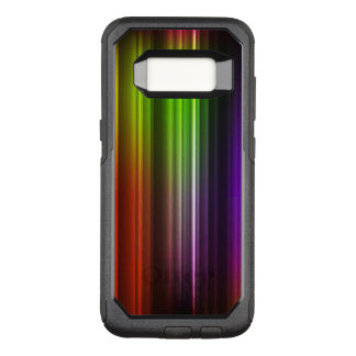 Multi Color Abstract (2) OtterBox Commuter Samsung Galaxy S8 Case