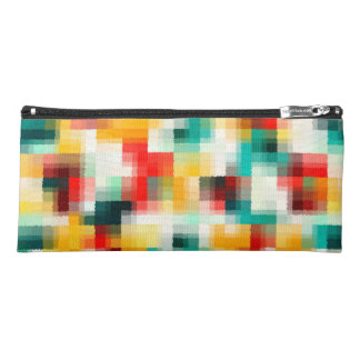 Multi-Color Abstract Art Pencil Case