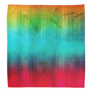 Multi-Color Abstract Pattern Bandana