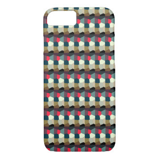 Multi-Color Abstract Pattern iPhone 8/7 Case