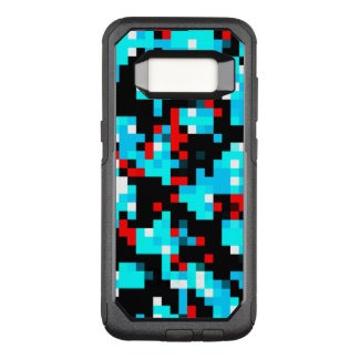 Multi-Color Abstract Pattern OtterBox Commuter Samsung Galaxy S8 Case