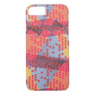 Multi Color Abstract Triangles iPhone 7 Case
