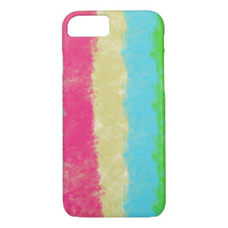 Multi color Art iphone case