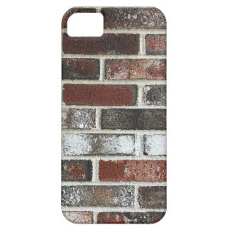 Multi color brick wall with reds, whites and brown iPhone 5 cases