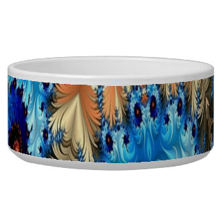 Multi-Color Decorative Design Pet Bowl