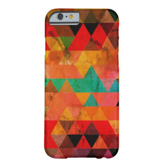 Multi Color Distressed Aztec Triangles Barely There iPhone 6 Case