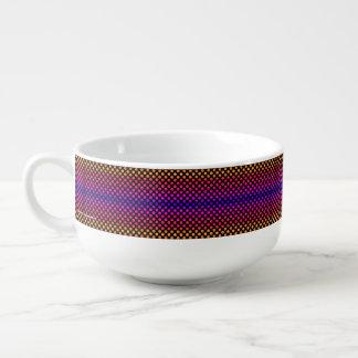 Multi-color Dots Soup Mug