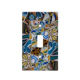 Multi-Color European Mosaic Design Light Cover