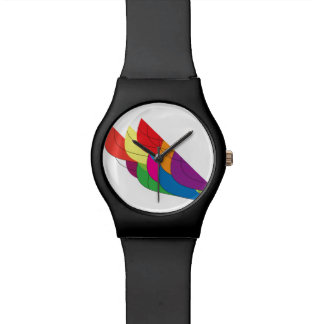 Multi-Color Fan Wristwatches