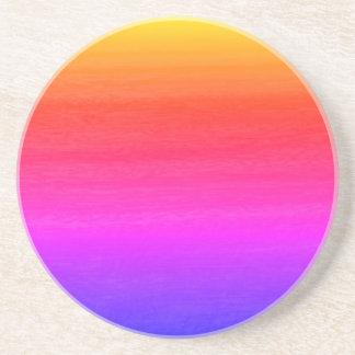 Multi Color Gradient Effect Coaster