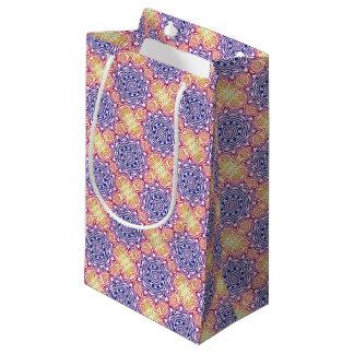 Multi-Color Kaleidoscope Tile Small Gift Bag