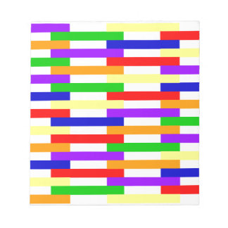 Multi-color Line Design Notepad