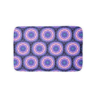 Multi-color mandala pattern Thunder_Cove Bath Mat