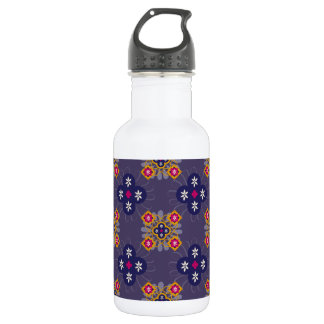 Multi-Color Moroccan Pattern Water Bottle