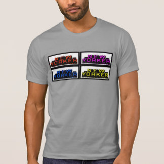 Multi Color New Yorker Printed Tshirt