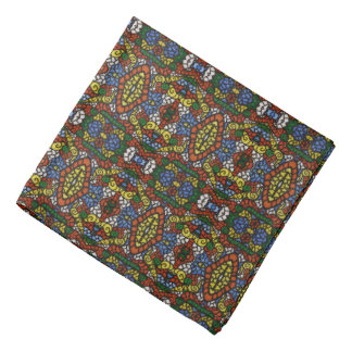 Multi-color Pattern Bandana