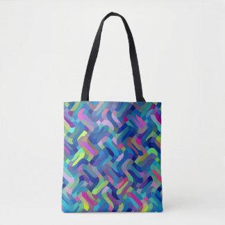 Multi-Color Pattern Cool Tote Bag