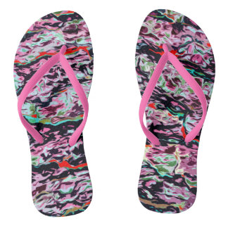Multi-Color  Pattern Flip Flops