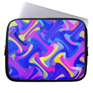 Multi-Color Pattern Laptop Sleeve