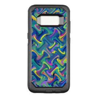 Multi-Color Pattern OtterBox Commuter Samsung Galaxy S8 Case