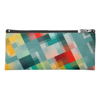 Multi-Color Pattern Pencil Case