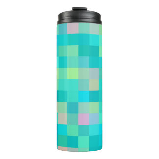 Multi-Color Pattern Thermal Tumbler