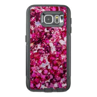Multi Color Pink Diamonds OtterBox Samsung Galaxy S6 Case