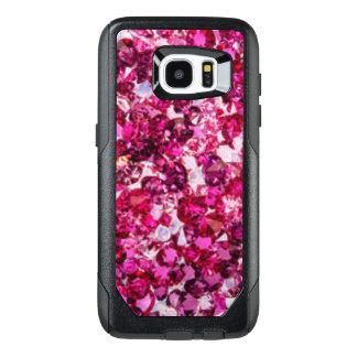 Multi Color Pink Diamonds OtterBox Samsung Galaxy S7 Edge Case