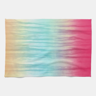 Multi-Color Rainbow Abstract Pattern Hand Towel