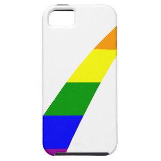 Multi-Color Rainbow Check Mark iPhone 5 Cover