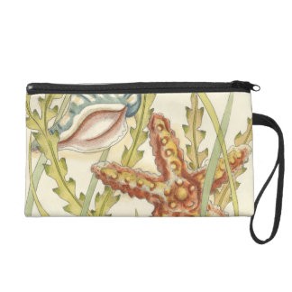 Multi-Color Shell Party Wristlet Clutch