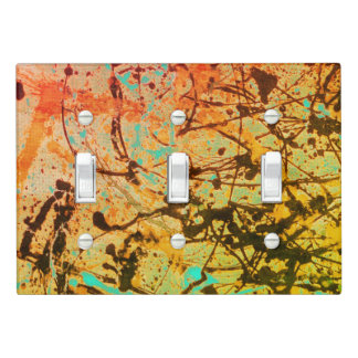 Multi Color Spatter Light Switch Cover