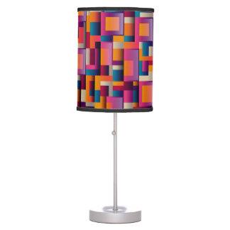 Multi-Color Square Design Decorative Lamp