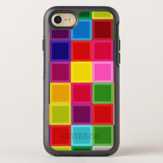 Multi Color Square OtterBox Symmetry iPhone 7 Case