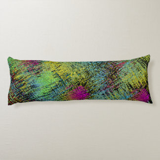 Multi-Color Stitches Body Pillow