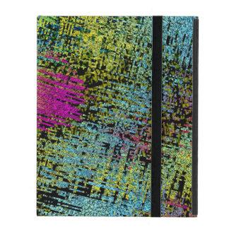 Multi-Color Stitches iPad Cover