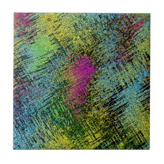 Multi-Color Stitches Tile