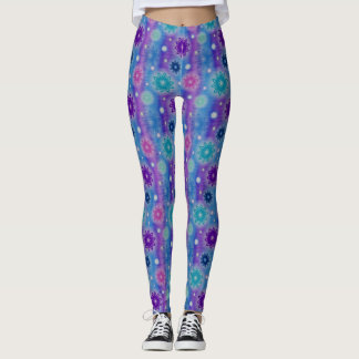 Multi-Color Stylish Stars Leggings