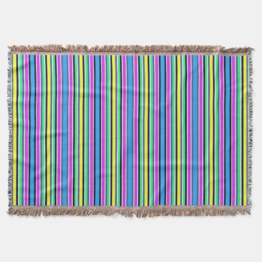 MULTI COLOR Throw Blanket