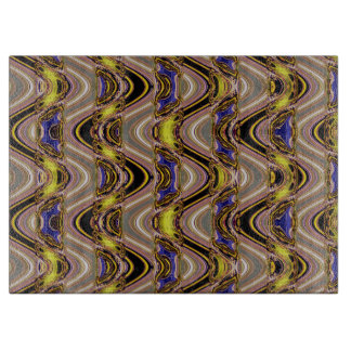 Multi Color Wave  Custom Cutting Board