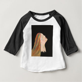 Multi-color Woman Baby T-Shirt